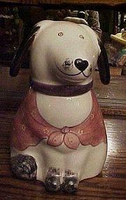 Rare N.S. Gustin dog cookie jar