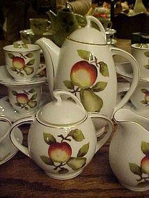 Complete Occupied Japan tea set  demitasse or childs