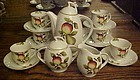 Complete Occupied Japan tea set  demitasse or childs