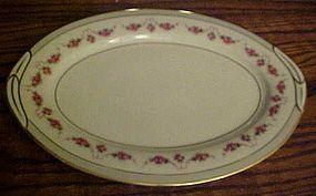 "Noritake R.C. 1313 patttern 12"" platter rose swags"