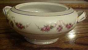 Noritake pattern 1313 sugar no lid R.C. pink roses