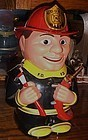 Talking Fireman cookie jar by Fun-Damental Too