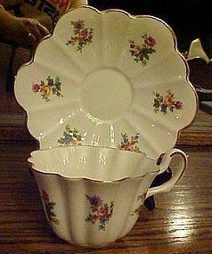Regina bone china cup and saucer England 1946-48