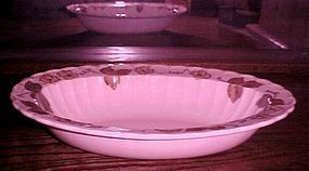 Metlox Vernonware Autumn Leaves oval vegetable bowl