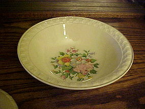 Taylor Smith Taylor Petit Point Bouquet serving bowl