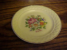 Taylor Smith Taylor petiit point bouquet bread plate