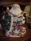 Large Santa Saint Nicholas Cookie jar by Mercuries