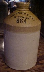 John Arnold and Sons Wickwar 884 crock ale beer jug