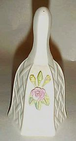 Belleek Cottage Rose bell  QVC