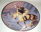 Spirit of the North wind collector plate Herman Adams