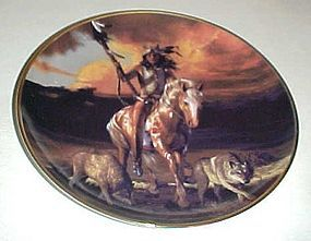 Spirit of the Rising sun plate by Hermon Adams