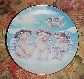 Dreamsicles  collector plate  The Flying Lesson