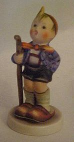 Vintage Hummel Figurine Little Hiker #76 2/0 TMK3