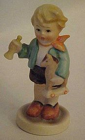 Hummel figurine 239 /C TMK 4 Boy With Horse and horn