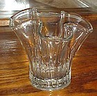 Cambridge crystal squat  swung vase