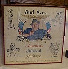 Burl Ives America's Musical Heritage 6 records w/ book