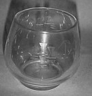 Noritake Crystal Bamboo punch glass cup