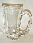 Tiara clear Hunter horn mug tankards 3 in box