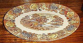 Nasco Mountain woodland oval serving platter