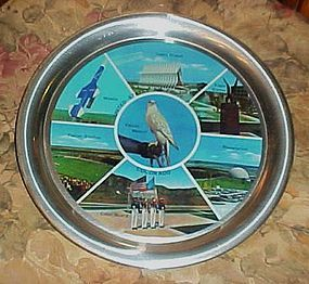 Vintage United States Air Force Academy  souvenir tray