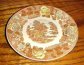 Nasco Mountain woodland 6.25 bread butter dessert plate