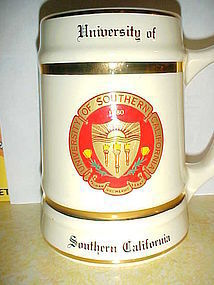 University of Southern California tankard mug USC