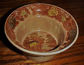 Nasco Mountain Woodland center bowl for lazy susan