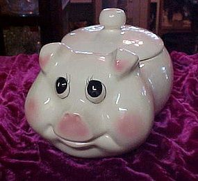 Vintage Weiss Pig cookie jar Brazil