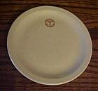 """Mayer China Army Medical logo plate 7 1/4"""""""