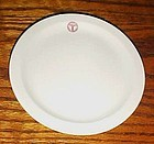 Shenango China Army Medical bread plate 6 3/8""