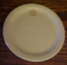 TEPCO Army medical logo bread and butter plate 6 1/2""