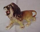 Vintage ceramic roaring lion figurine Japan
