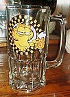 VIntage 1978 Garfield 32 oz Heads up  glass beer mug
