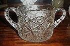 EAPG  Omnibus aka Hobstar Sugar Bowl 1915 US Glass
