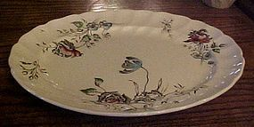 "Johnson Bros Day in June 12"" oval serving platter"