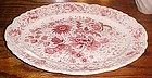 Taylor Smith Taylor Center bouquet red oval platter