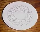 Rosenthal Contentl Script pattern single saucer