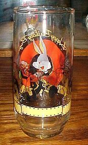 Happy Birthday Bugs  50th Warner Bros drinking glass