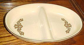Pfaltzgraff  Village oval divided vegetable dish