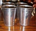 Guardian Wearever aluminum portable bar drink cups