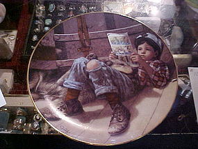 Favorite Reader Jim Daly collector plate Danbury Mint