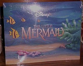 Disney Little Mermaid 4 lithograph set never opened