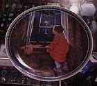 Jessie Wilcox Smith Christmas plate by Knowles
