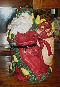 Old World Santa cookie jar Dayton-Hudson Target stores