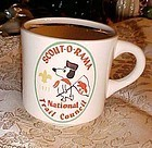 RARE Snoopy Scout-o-rama Trail Council BSA mug 1977