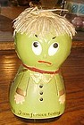 Vintage 4 sided Mood Mary bank Happy sad furious bored