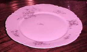 Antique Facon H Bavaria Germany dinner plate florals