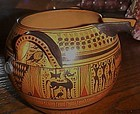 Historic Museum  geometric Greece vase 550 BC replica