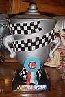 Gibson Nascar trophy ceramic cookie jar
