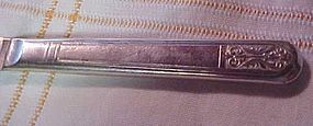 Royal Saxony silver plate solid flat dinner knife